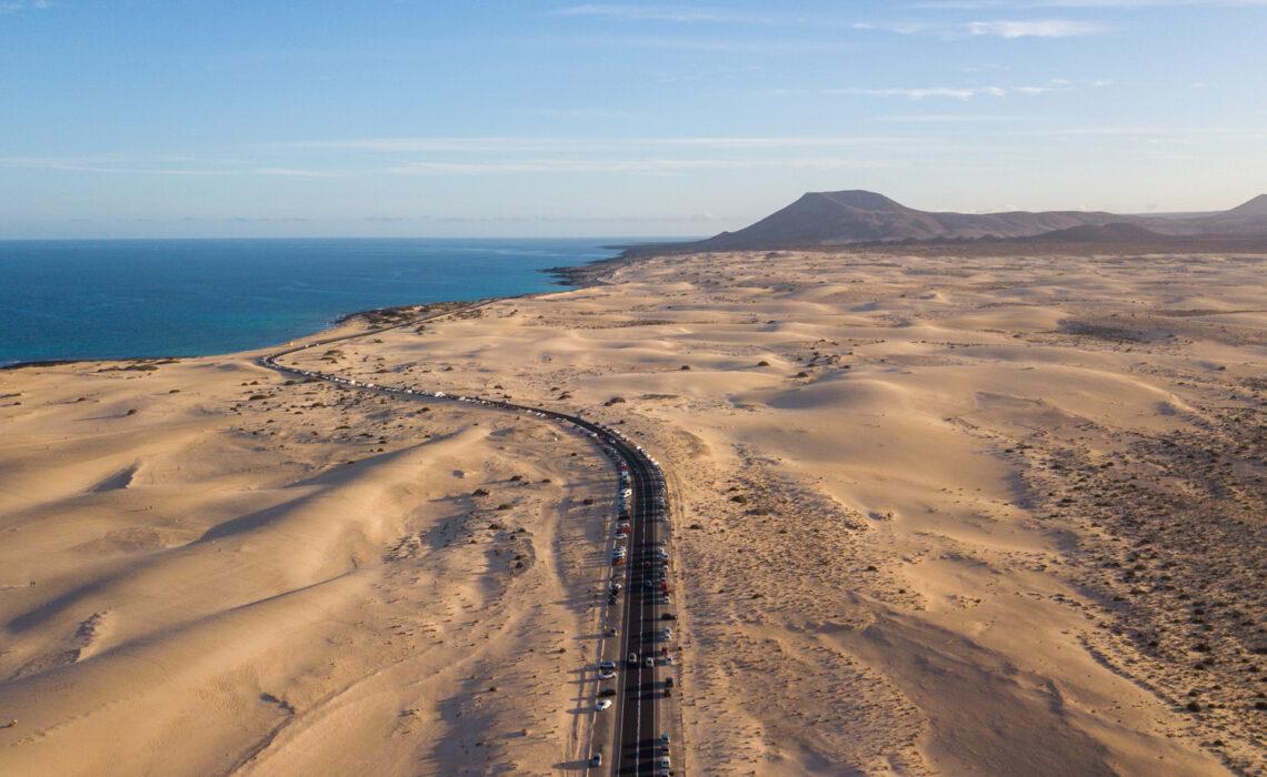 Fuerteventura - co zobaczyć w 7 dni? Wydmy Corralejo