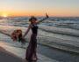 Przemyślenia na 30 urodziny - plaża, Jantar 2021.